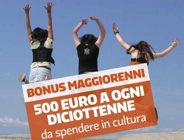 """""""Bonus cultura"""" ai maggiorenni: opportunità per il mercato editoriale"""