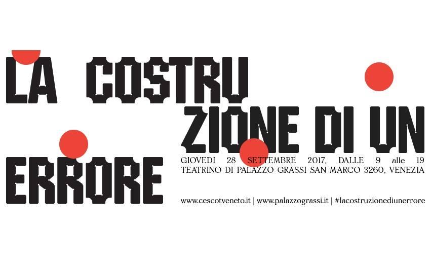 Cescot Veneto: l'errore è esperienza, seminario a Venezia