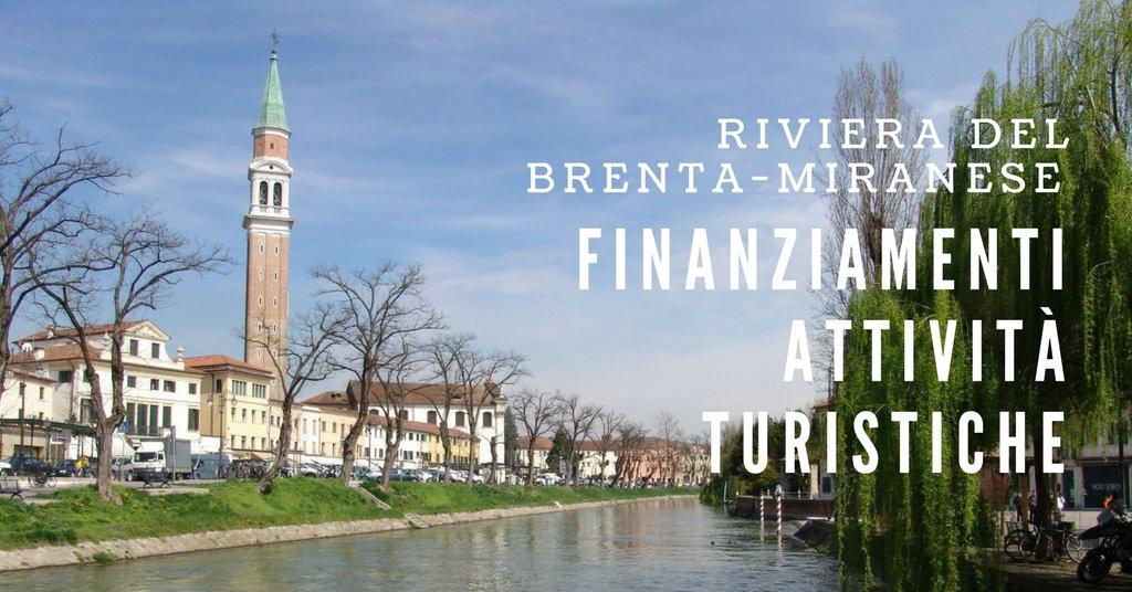 Finanziamenti al turismo per Riviera del Brenta e Miranese