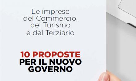 Elezioni. le 10 proposte di Confesercenti per il nuovo governo