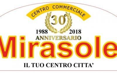 """""""Mirasole"""": il centro commerciale di quartiere festeggia il 30°anniversario"""